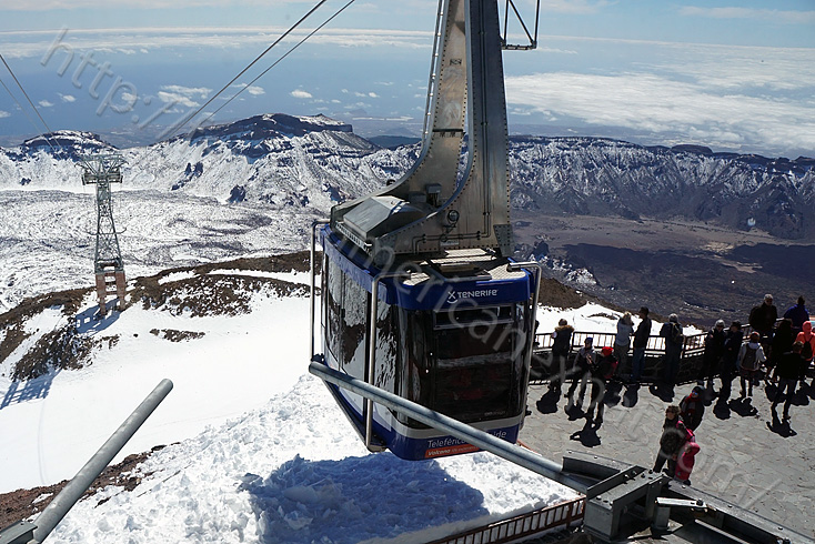 Teide Tenerife Cable car